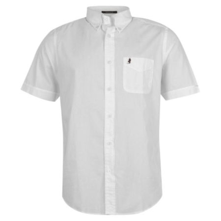 Marlboro Mens Shirt White