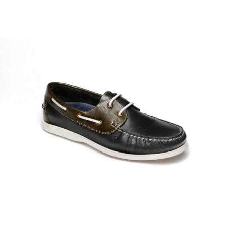 L. Lambertazzi Boat Leather Shoes