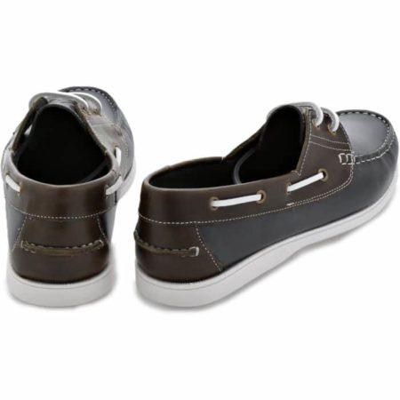 L. Lambertazzi Boat Leather Shoes