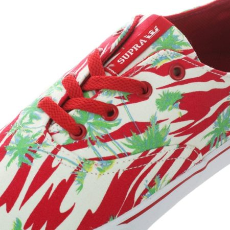 Supra Wrap Red Print White