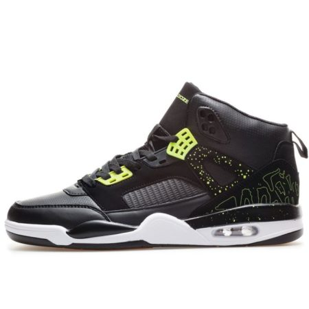 Bulldozer Sneaker Shoes Black Lime for winter
