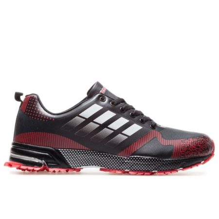 Bulldozer Running Shoes Black Red winter