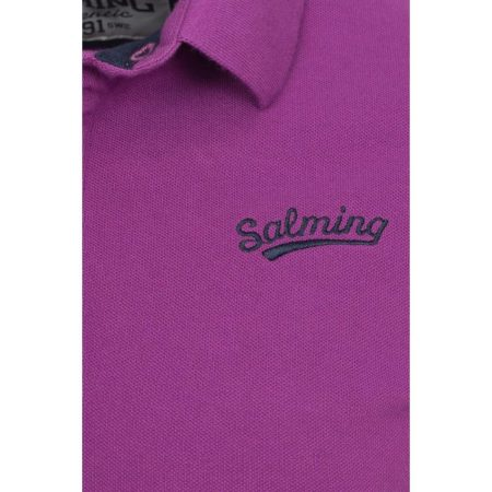 Salming Original Polo Purple Dahlia 1165517-3539 www.best-buys.gr