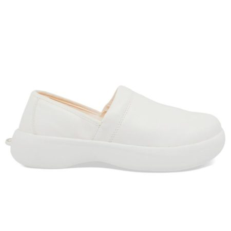 SoftScience Pro Slip On Leather WW0017WHT Work Shoes on www.best-buys.gr