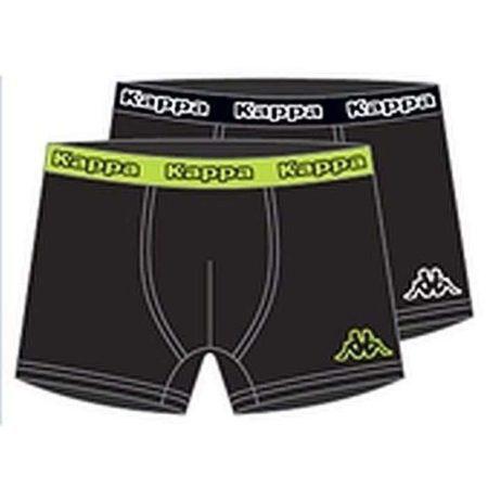 Kappa Boxers Toledo2 705227 Black 2-Pack 1+1 891185