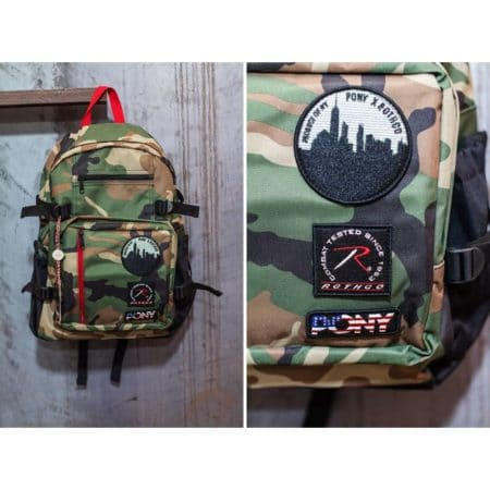 Αθλητικές Τσάντες Πλάτης Pony Rothco Backpack SS14772NGN Camo www.best-buys.gr