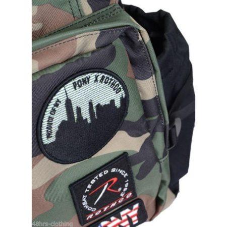 Αθλητικές Τσάντες Πλάτης Pony Rothco Backpack SS14772NGN Camo www.best-buys.gr