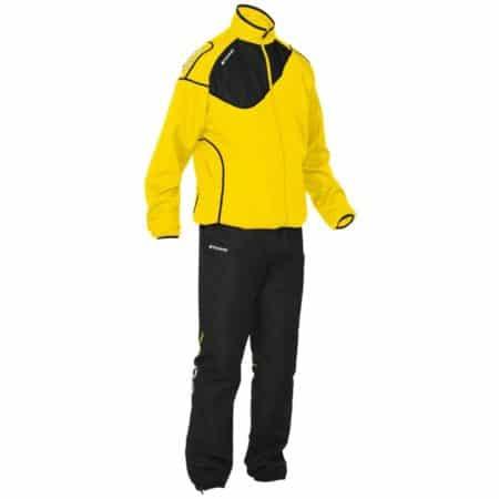 Ανδρικές Φόρμες Stanno Montreal Taslan Suit Men Yellow Black 401107-4800 Training Suits on www.best-buys.gr