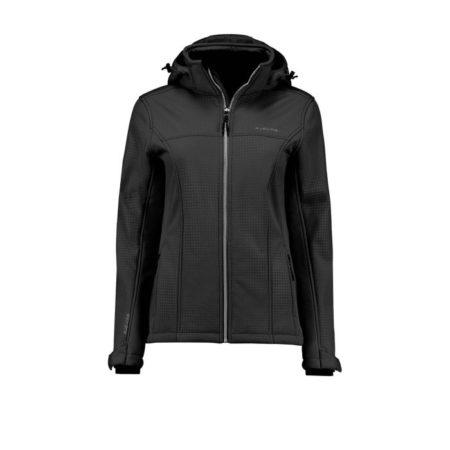 Kjelvik Adria 40 Black Softshell Jacket