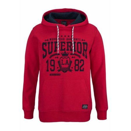 John Devin Sweatshirt Hoodie LA Red