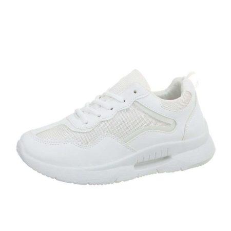 Women's Sneakers K801-1-White