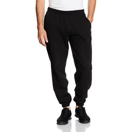 Classic Elasticated Cuff Jog Pants Black 64-026-0