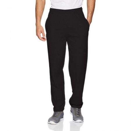 Fruit Of The Loom Lightweight Jog Pants Black 64-038-0
