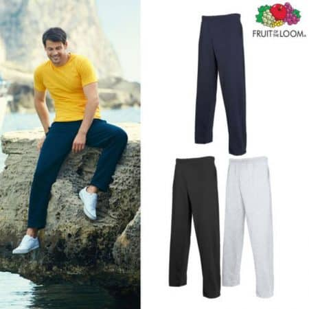 Fruit Of The Loom Lightweight Jog Pants 64-038-0