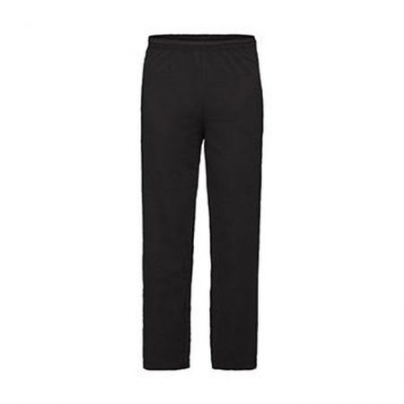 Fruit Of The Loom Open Hem Jog Pants Black 95301