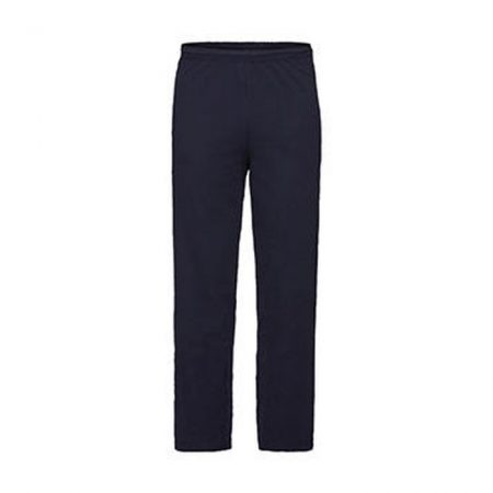Fruit Of The Loom Open Hem Jog Pants Navy 95301