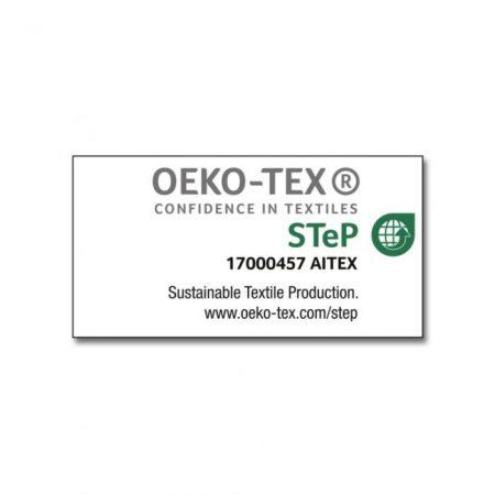 Nakedshirt Luna Hooded Sweat Grey 20485 Label OEKO-TEX