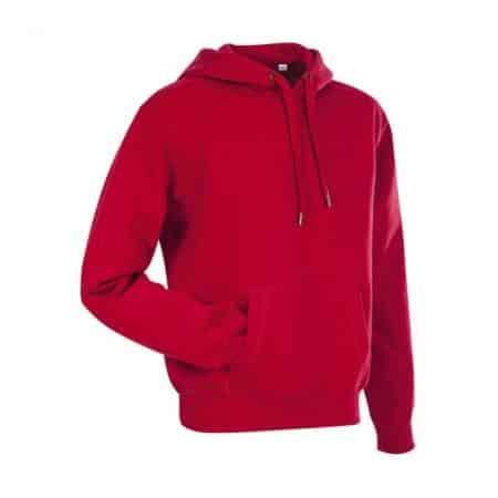 Stedman Sweat Hoodie Crimson Red ST5600