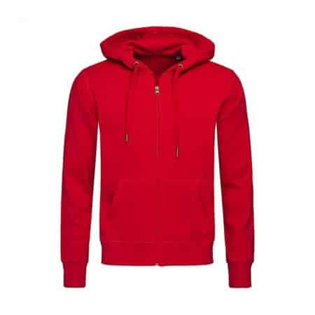 Stedman Sweatjacket Crimson Red ST5610
