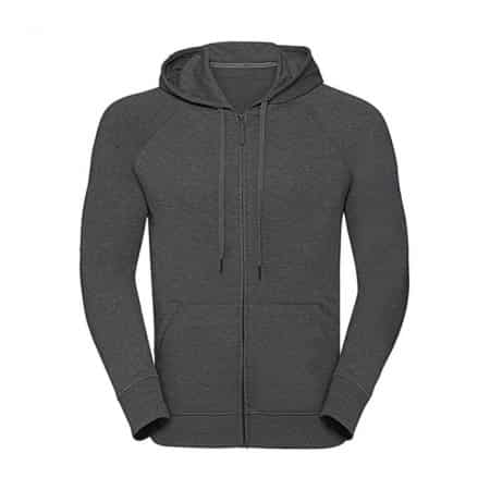 Russell HD Zipped Hood Grey Marl R-284M-0-GR