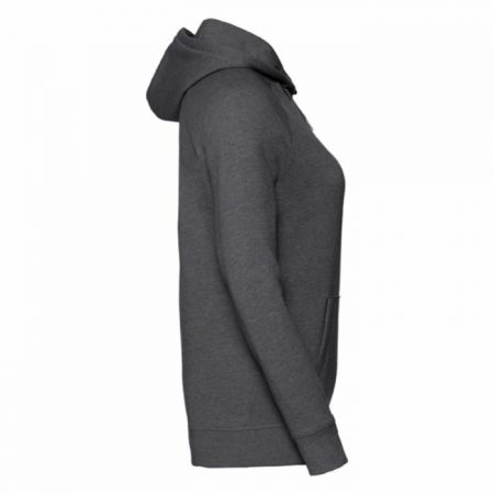 Russell HD Hooded Sweat Grey Marl 0R281F0GYS Γυναικείο Φούτερ