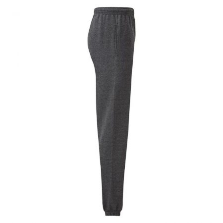 FruitOfTheLoom Classic Elasticated Cuff Jog Pants Dark Heather Grey 640260HD Ανδρικό κλασικό παντελόνι φόρμας