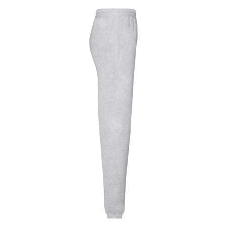 FruitOfTheLoom Classic Elasticated Cuff Jog Pants Heather Grey 64-026-094